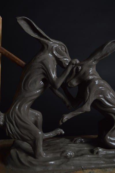 hares sculpture
